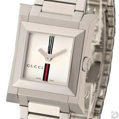 グッチ YA111501 111L 腕時計 シルバーGRG文字盤
