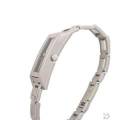 グッチ YA110502 110GRG 腕時計 黒文字盤×SSベルト