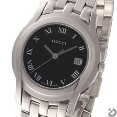 グッチ GUCCI 5505M メンズ 腕時計 ブラック文字盤