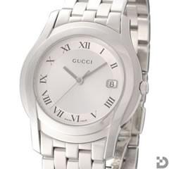 グッチ GUCCI 5505M メンズ 腕時計 シルバー文字盤