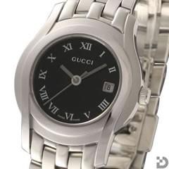 グッチ 5505L レディース 腕時計 ブラック文字盤