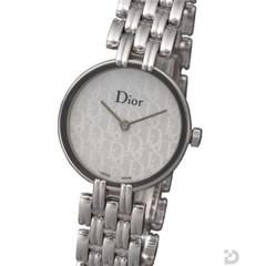 Dior バキラ Diorロゴホワイトシェル文字盤