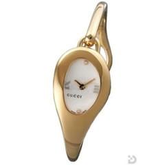 グッチ 103P 腕時計 ホワイトフラワ−文字盤