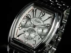 【エルジンELGIN】クロノグラフ腕時計FK1215S