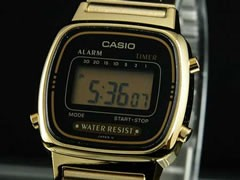 カシオ CASIO 腕時計 デジタル レディース LA670WGA-1UWD