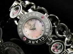 【AnneClarkアンクラーク】天然ダイヤレディース腕時計AT-1008-17