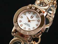【AnneClarkアンクラーク】天然ダイヤレディース腕時計AN-1021-09PG
