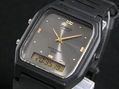 カシオ CASIO 腕時計 アナデジ AW48HE-8A