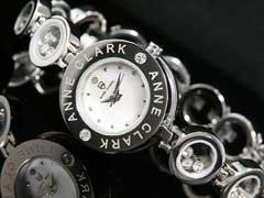 【AnneClarkアンクラーク】天然ダイヤレディース腕時計AT-1008-09