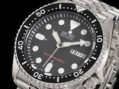 セイコー SEIKO ダイバー 腕時計 自動巻き ブラックボーイ SKX007K2【送料無料】