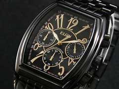 【エルジンELGIN】クロノグラフ腕時計FK1215B-B【送料無料】