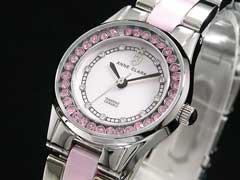 【AnneClarkアンクラーク】天然ダイヤレディース腕時計AM-1024-17