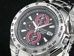 セイコー SEIKO 腕時計 クロノグラフ アラーム SNAB07P1【送料無料】