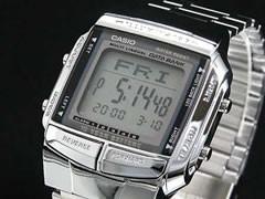 カシオ CASIO データバンク 腕時計 シルバー DB360-1A