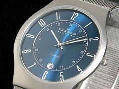 スカーゲン SKAGEN 腕時計 ウルトラスリム チタン 233XLTTN【送料無料】