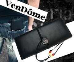VenDome 牛革 インディアンコンチョ長財布 FA-696 ブラック