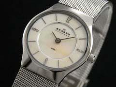 スカーゲン SKAGEN 腕時計 ウルトラスリム レディース 233XSSS