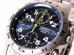 セイコー SEIKO 腕時計 クロノグラフ メンズ SND379