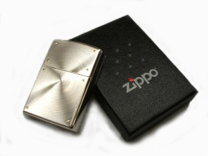 ZIPPO シルバースピンスクリュー 2SSP-SF