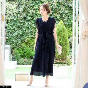 パーティードレス パンツスタイル 大きいサイズ セットアップ 結婚式 20代 30代 結婚式 ワンピース 結婚式 ドレス お呼ばれ 服 M L LL