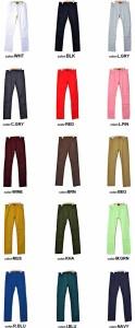 [送料無料]VICCI【ビッチ】カラー スキニーパンツ /全12色 trend_d メンズ ビター系