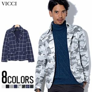 SALE VICCI ビッチ T/C ナポレオン テーラードジャケット /全8色 lp