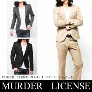 MURDER LICENSE(マーダーライセンス)TRスタンダードテーラードジャケット(mlj395)メンズ JKT【送料無料】