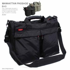 【送料無料】MANHATTAN PASSAGE マンハッタン スタイリッシュトラベラー・スタンレイ ショルダーバッグ