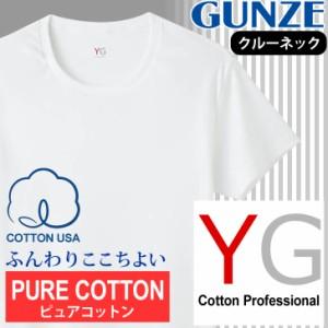 YG ピュアコットン クルーネックTシャツ YV0013N クルーネック Tシャツ 半袖 下着 無地 抗菌 防臭 インナー