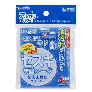 東和産業 セスキ炭酸ソーダクリーナー4枚入 #16