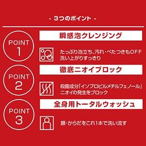 【ケイスケ ホンダ ボディケア】ロードダイアモンド バイ ケイスケホンダ 薬用デオドラント ボディウォッシュ 500ml