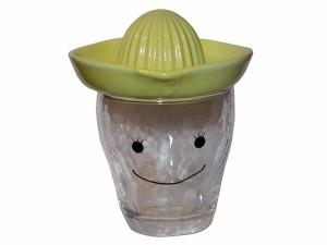 焼酎専用グラス&レモン絞り器セット ガール
