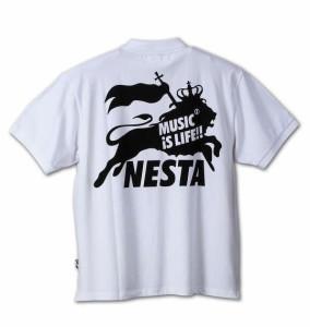 【大きいサイズ】【メンズ】 NESTA BRAND 半袖ポロシャツ ホワイト 1178-6290-1 [3L・4L・5L・6L]