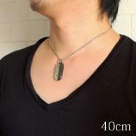316Lステンレス ブラック&シルバー ジュエル付ギターペンダント【 ペンダント 金アレ 対応 】