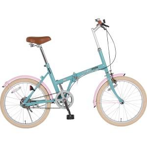 シンプルスタイル 20型折りたたみ自転車ペールブルー【B倉庫】【ギフト 引き出物 引出物 結婚内祝い 出産内祝い 引っ越し 引越し ご挨
