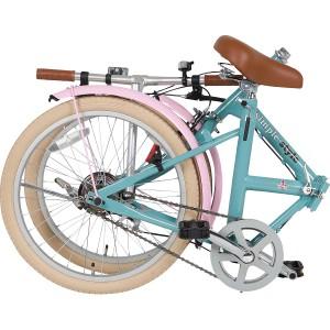 シンプルスタイル 20型折りたたみ自転車ペールブルー【ギフト 引き出物 引出物 結婚内祝い 出産内祝い 引っ越し 引越し ご挨拶 お返し