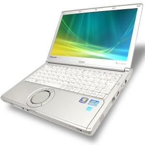 ノートパソコン 中古 Panasonic Let'snote CF-SX1 Core i5 訳あり 4GBメモリ 12.1インチ DVD-ROMドライブ Windows10 MicrosoftOffice2007