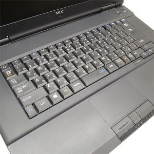 ノートパソコン 中古 NEC VersaPro VK19E/A-H Celeron Dual-Core 8GBメモリ 15.6インチワイド DVD-ROMドライブ Windows10 MicrosoftOffic