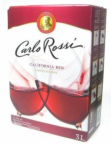 カルロ・ロッシ ボックスワイン 赤 3000ml バッグ・イン・ボックス 3L カルロロッシ