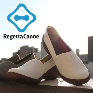 RegettaCanoe リゲッタカヌー ウェッジソール スリッポン パンプス シューズ CJWS6709