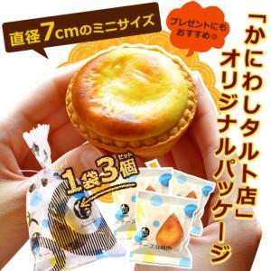 送料無料 かにわし タルトセット チーズな時間3個+ナッツタルト1個  冷凍便 お菓子 スイーツ アーモンド