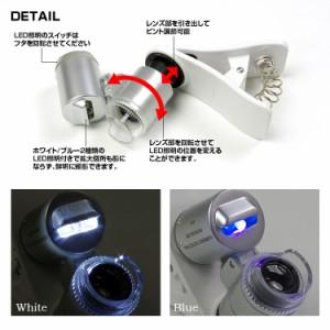 マイクロスコープ 顕微鏡 スマホ用 ピント調節可 倍率60倍 簡単取付け スマホのカメラが顕微鏡に iPhone
