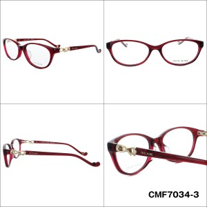 CECILMcBEE 眼鏡 CMF7034 全4カラー 52サイズ アジアンフィット レディース