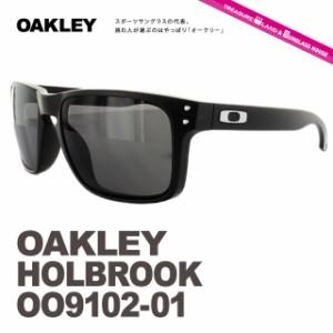 【ポイント3倍】 【送料無料】 オークリー サングラス HOLBROOK oo9102-01 Matte Black/Warm Grey メンズ レディース スポーツ