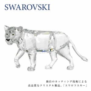 スワロフスキー SWAROVSKI インテリア置物 1194085 ライオン LION MOTHER クリスタル