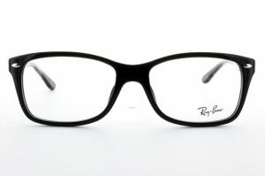 【国内正規品】レイバン 伊達眼鏡 Ray-Ban RX5228F 2000 55 ブラック アジアンフィット RayBan RB5228F