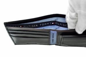 トミーヒルフィガー TOMMY HILFIGER 折り財布 31TL25X003-001 (0096-4511/01) ブラック