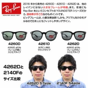 【送料無料】 国内正規品 レイバン Ray-Ban サングラス RB4262D 601/30 57 ミラーレンズ