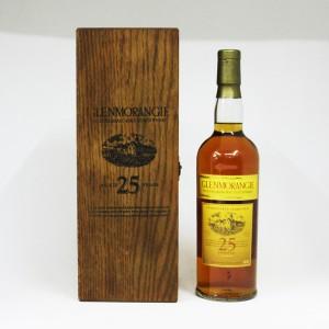 【オールドボトル】グレンモーレンジィ 25年 43度 750ml 正規品 (専用木箱入り)