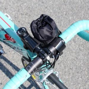 【特急】R250 フロントポーチ レギュラー ブラック【自転車】【アールニーゴーマル】
